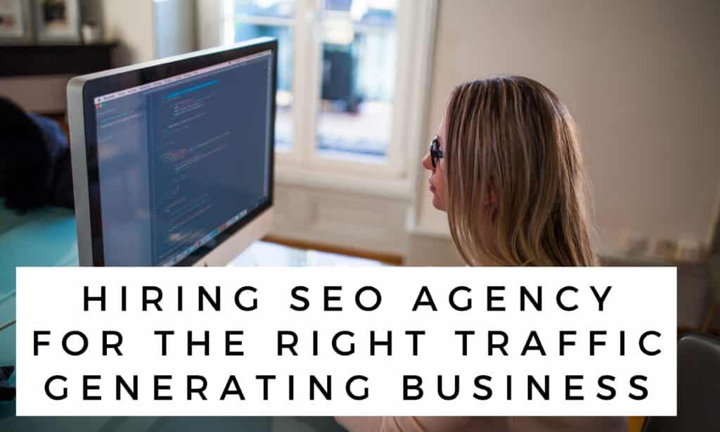 Hiring SEO Agency